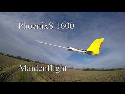 Phoenix S 742-74, 1600 mm (Bangood) - Maidenflight