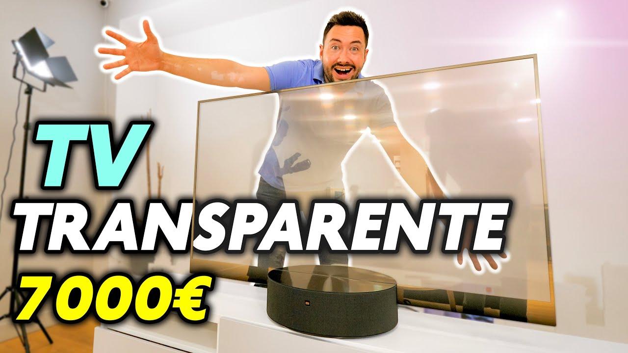 J'ai testé une TV Transparente ! (bluffant mais 7000€)