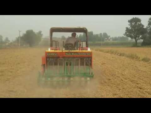 Gurdial Singh Sowing Wheat