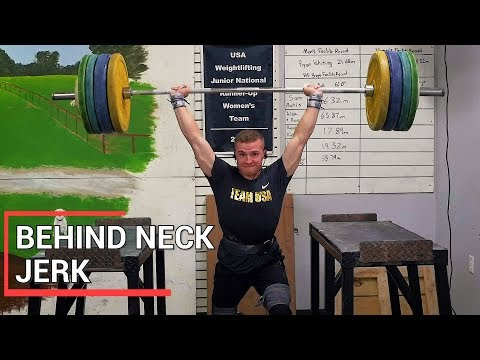 How To Behind Neck Jerk | Movement Library
