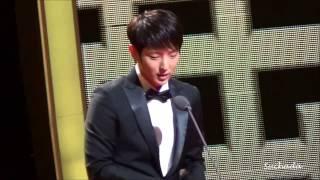 Lee Joongi receive Outstanding Korean Actor Awards 2013
