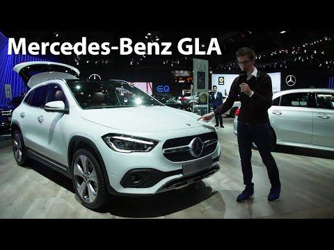 Der erste ECHTE Live Eindruck des neuen Mercedes-Benz GLA (H 247) - Autophorie
