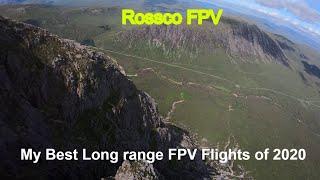 Long Range FPV Drone Flights - MY BEST FLIGHTS OF 2020 - Scotland - Rossco FPV