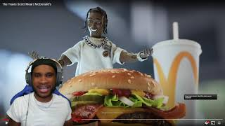 WHAT YA THINK? IS THIS A W? The Travis Scott Meal   McDonald's   REACTION