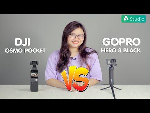 Gopro Hero 8 vs DJI Osmo Pocket| Chọn Action Camera nào cho phù hợp ???