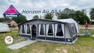 Aufbau und erster Eindruck vom Dorema Horizon Air All Season