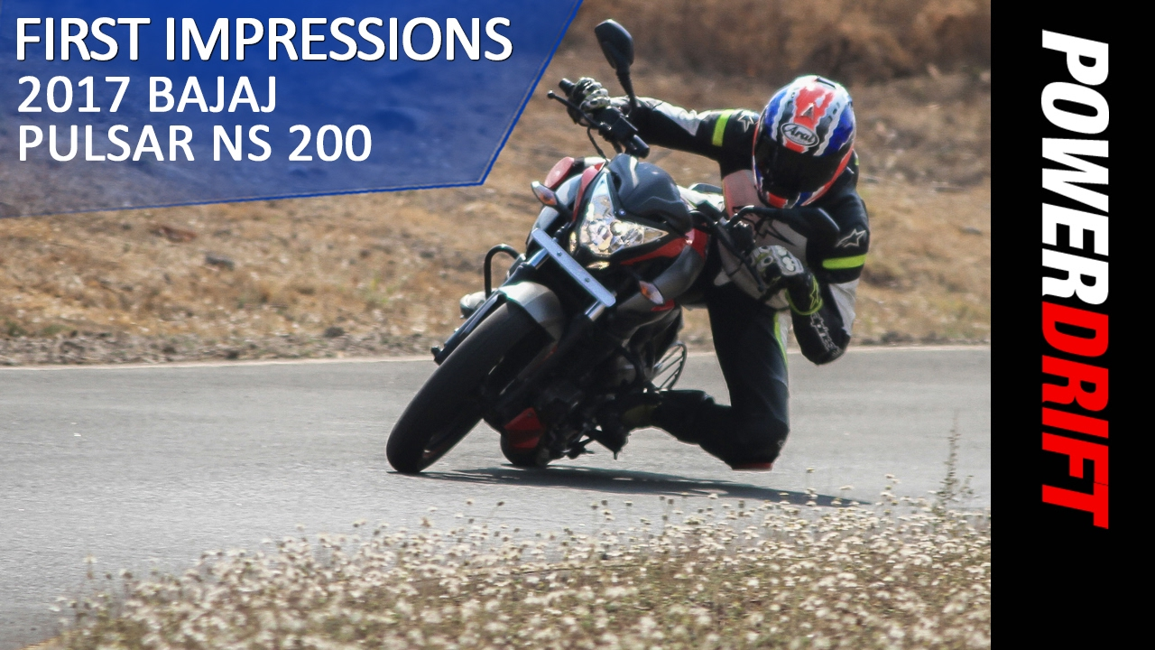 All you need to know 2017 bajaj pulsar ns 200 powerdrift