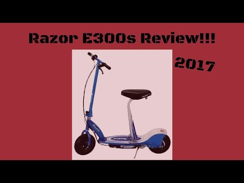 Razor E300S Electric Scooter Review 2017!!!