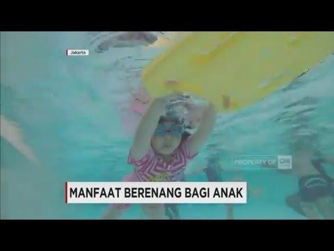 Video Manfaat Berenang Bagi Anak