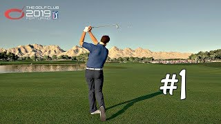 The Golf Club 2019 Career Mode Part 1 - Web.Com Q-School Final | PS4 Pro Gameplay