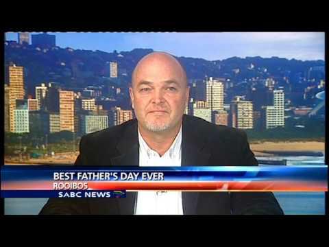 Video Joe Swart on rooibos tea benefits