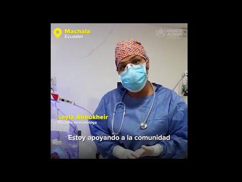Unidos en la lucha contra el COVID-19 en Ecuador