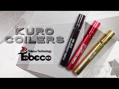 Tobeco Kuro Coil 2,5 мм - устройство для изготовления спиралей - видео 1