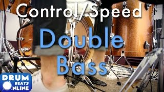 Building Control & Speed With The Double Bass Pedal - Drum Lesson | Drum Beats Online