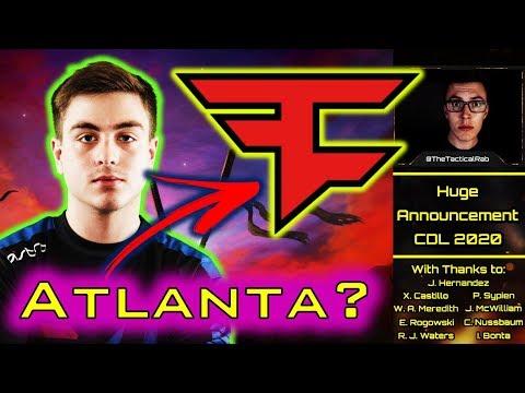 """FAZE"" Atlanta??? - CDL Name Leak & League Announcement    CDL Rostermania News & Rumors    CoD: MW"