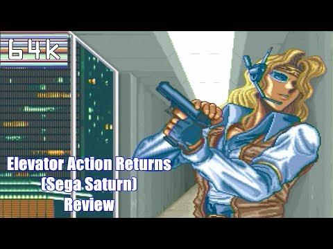 Elevator Action Returns (Sega Saturn) Review