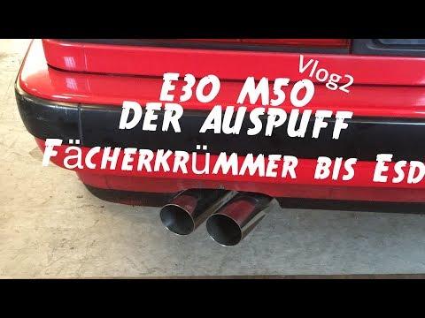 BMW E30 M50 Umbau Story ' Vlog No. 2 ' Auspuff, E-Lüfter, + Special