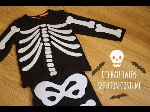 DIY Halloween - Disfraz esqueleto | Skeleton Costume | Coser con Manneken