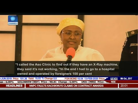 Aisha Buhari Calls For Probe Of N3.2B Allocation To Aso Villa Clinic