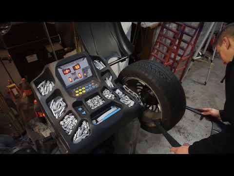 Wie wuchte ich einen Reifen aus? by DC Motors