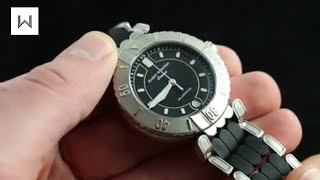 Harry Winston Premier Ocean Automatic Luxury Watch Review