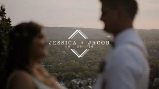 Beautiful Rustic Barn Wedding At Dyments Farm | Jessica + Jacobs Wedding Film