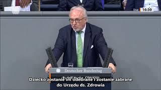 Polityk z CDU/CSU nawołuje w Bundestagu, aby odbierać dzieci siłą i przymusowo je zaszczepić