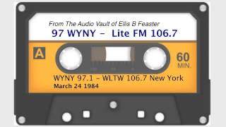 WYNY 97 - WLTW LiteFM 106.7 New York - March 1984