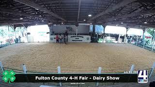Fulton County 4-H Fair - Dairy Show - 7-8-19