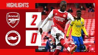Arsenal 2-0 Brighton Pekan 38