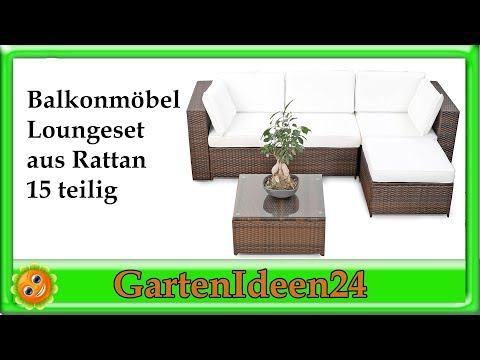ᐅᐅ】Garten Loungemöbel Set Tests + Produkt- & Preisvergleich + Top ...