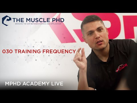 The Muscle PhD Academy Live #030: Training Frequency