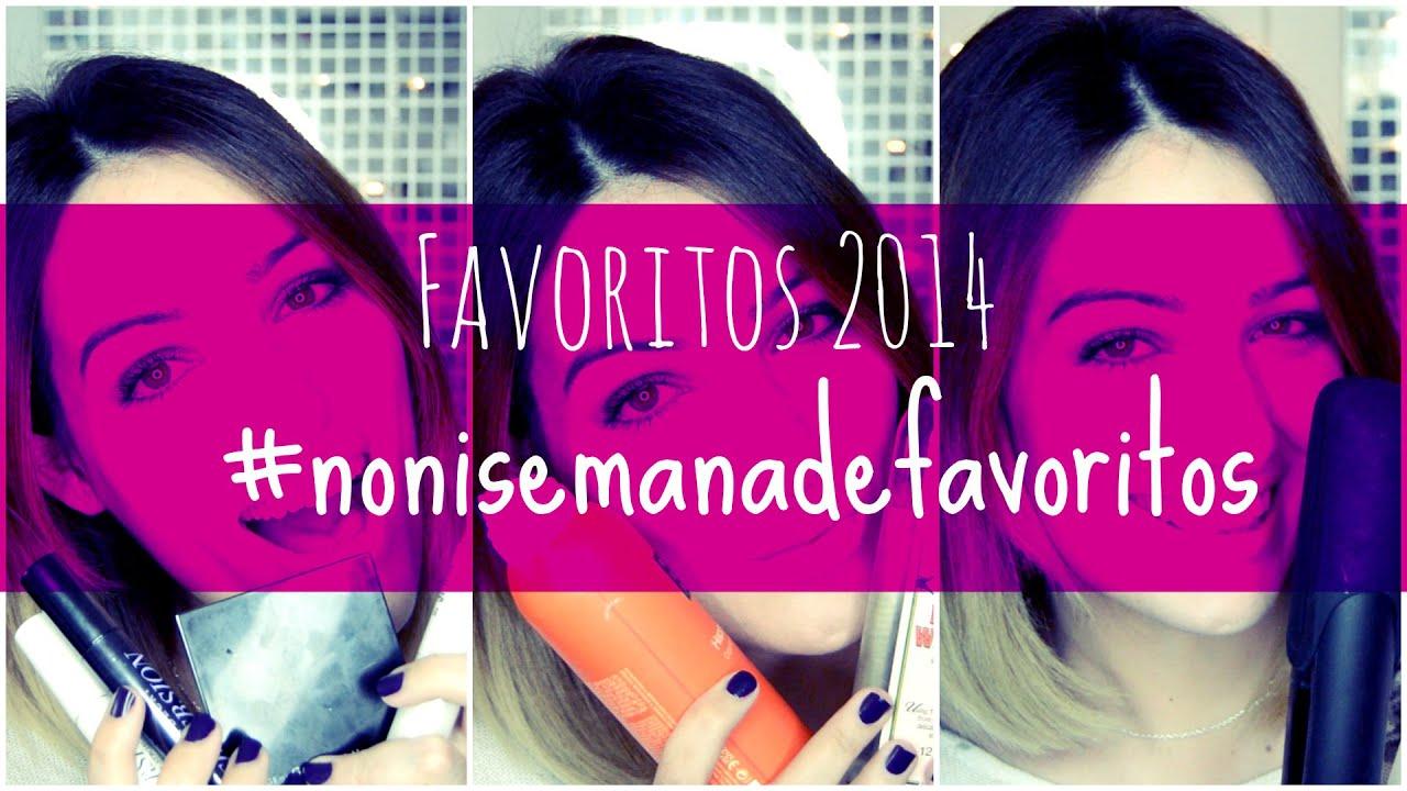 Mis favoritos 2014 en 5 días y 5 vídeos #nonisemanadefavoritos