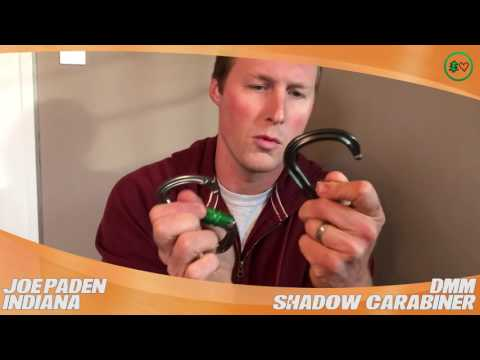 DMM Shadow Carabiner: TreeStuff.com Customer Joe Paden's Review In The Field