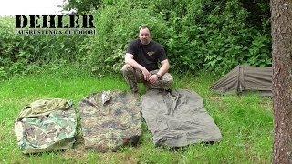 militärische Biwaksäcke - robust und erprobt (Teil 2 unserer Biwaksack-Reihe)