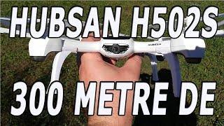 HUBSAN X4 H502S 300 METRE MESAFEDE UÇUŞ DENEMESI