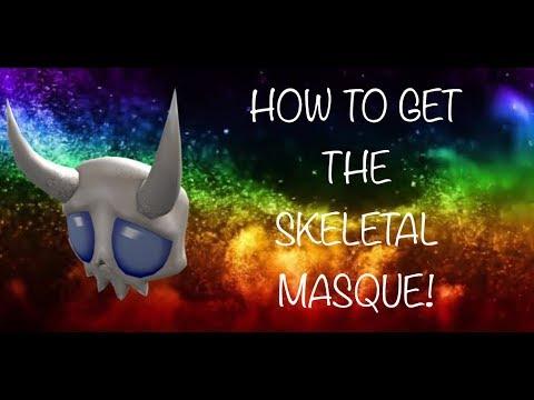How To Get Skeletal Masque Roblox Halloween Event 2018 Ended How To Get The New Skeletal Masque In The Roblox 2018 Halloween Event Apphackzone Com