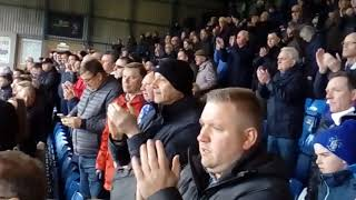 Bury V Colchester April 13 2019 Fans Love Ryan And Bury Despite The Club Being In Dire Financial Str