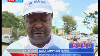 KTN Prime : President Uhuru in Coast part 1