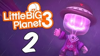 Little BIG Planet 3 [Part 2] Stirring the Pot, Ironing out the Creases (PS4 Father&Son Gameplay)