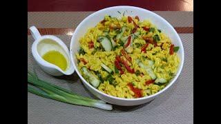 სამარხვო მაკარონის სალათი