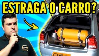 GNV ESTRAGA o CARRO!?
