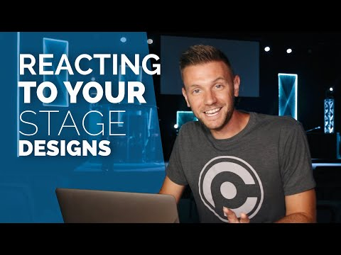 Stage Design Ideas | Reacting to YOUR Stage Designs