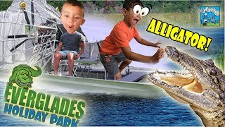 SURROUNDED BY ALLIGATORS! DINGLEHOPPERZ  VLOG
