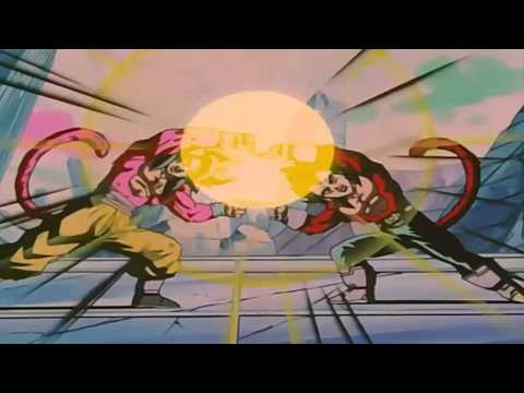 Goku & Vegeta ~ Fuse ~ Gogeta SSJ4 [HD] ~ Dragon Ball GT