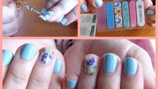 Jamberry Nail Wraps: Demo + First Impressions + Review!