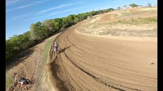 Raw clip red bull day in the dirt fpv chase video