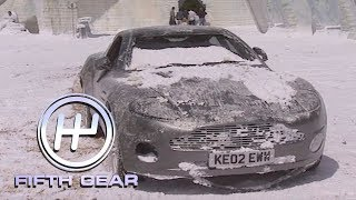 Behind the scenes of James Bond's Aston Martin stunts | Fifth Gear Classic