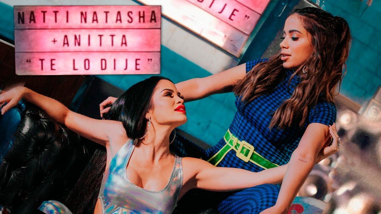 Natti Natasha x Anitta — Te lo Dije