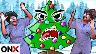 CHRISTMAS TREE CHALLENGE! - Shiloh and Shasha - Onyx Kids